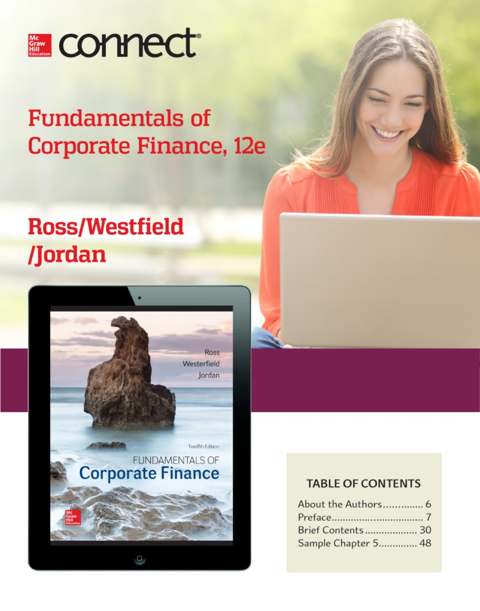 Ross fundamentals of corporate finance 12e fandeluxe Images