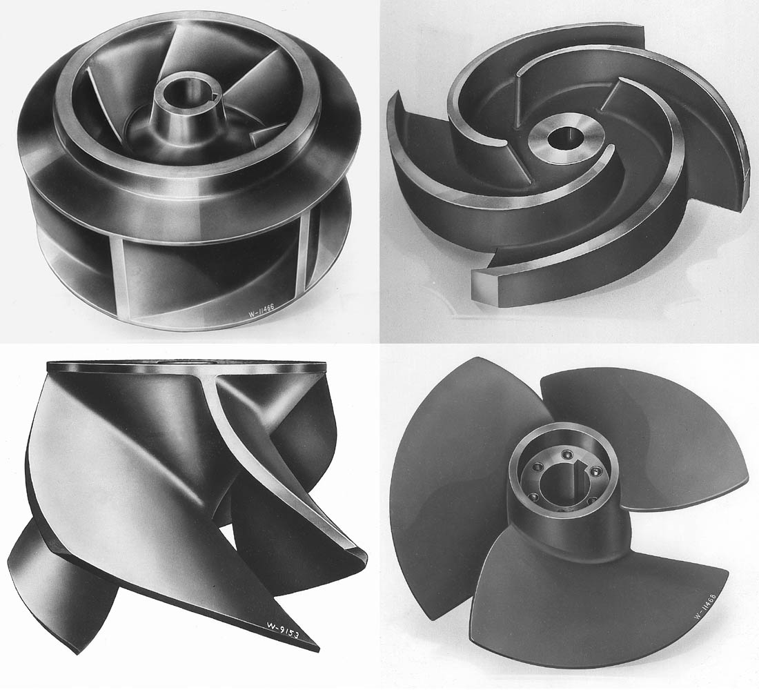 Axial Flow Impeller : Author recommended images